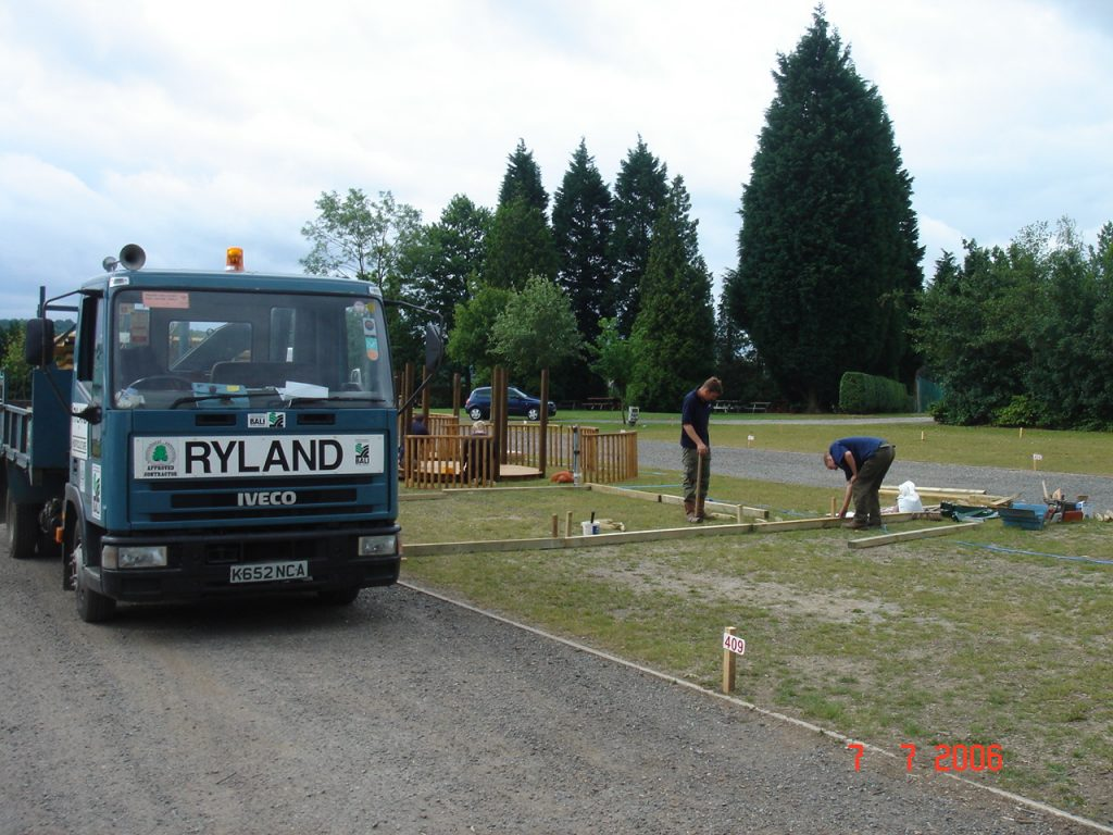 Ryland Horticulture landscapers York at the Yorkshire Show